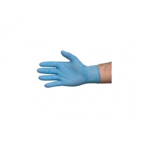 NITRILE EXAM GLOVES POWDER FREE 2S