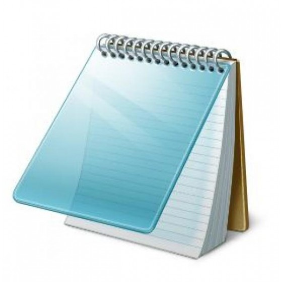 ACCIDENT REPORT NOTE BOOK & PENCIL