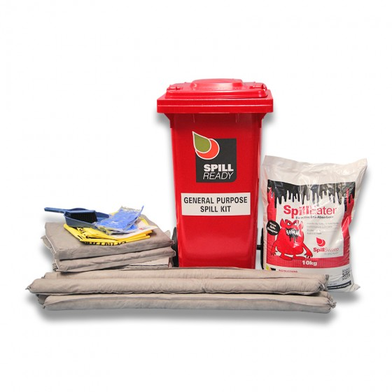 GENERAL PURPOSE 120L WHEELIE BIN SPILL KIT