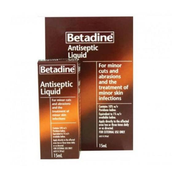 BETADINE LIQUID 15 ML