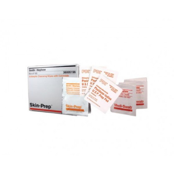 SKIN-PREP - ANTISEPTIC SWAB SINGLE