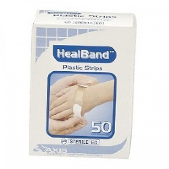 HEALBAND PLASTIC STRIP BOX 50