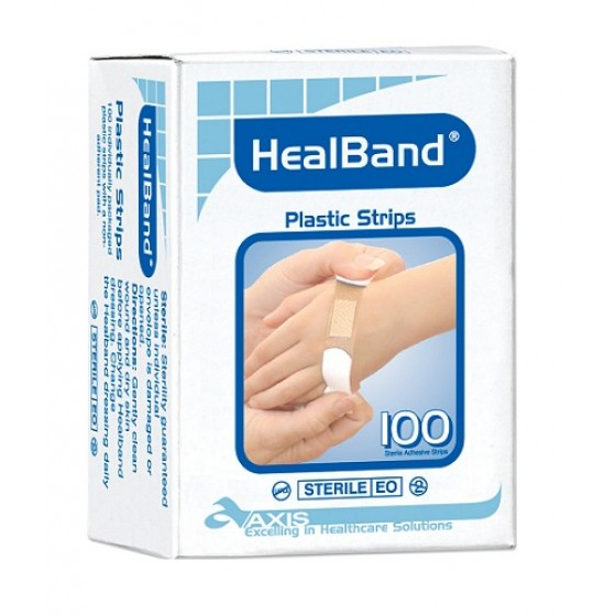HEALBAND PLASTIC STRIP BOX 100