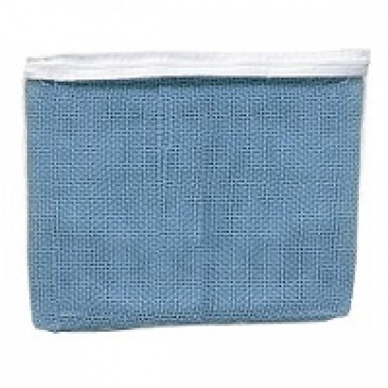 BLANKET, CELLULAR 100% COTTON, SINGLE BED, BLUE