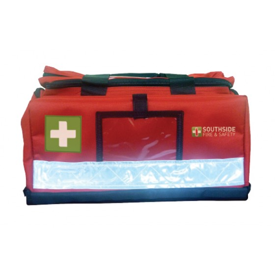 FIRST AID CASING - RED SOFT BAG LARGE  (350 X 340 X 160mm)
