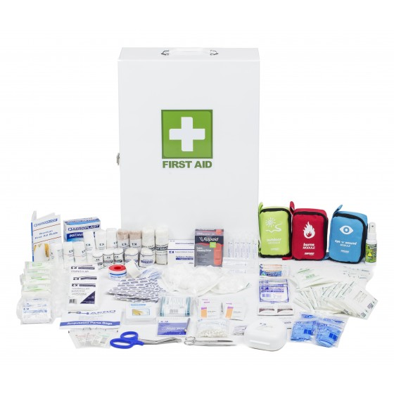 ASSESS 4 - CONSTRUCTION METAL BOX FIRST AID KIT