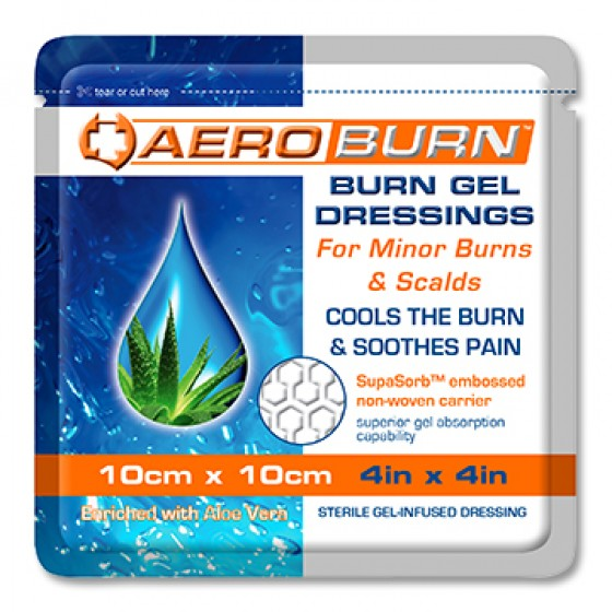 Burn Gel-infused Dressing 10CM X 10CM
