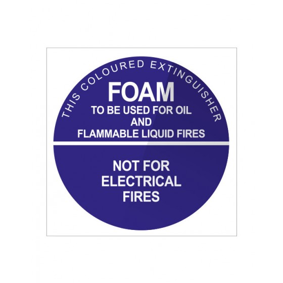 ID SIGN FOAM (DISK)- 190mm X 190mm