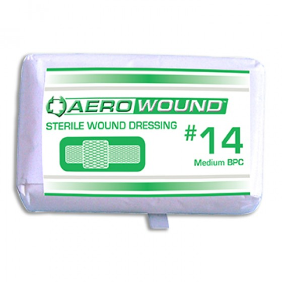 WOUND DRESSING No.14 MEDIUM