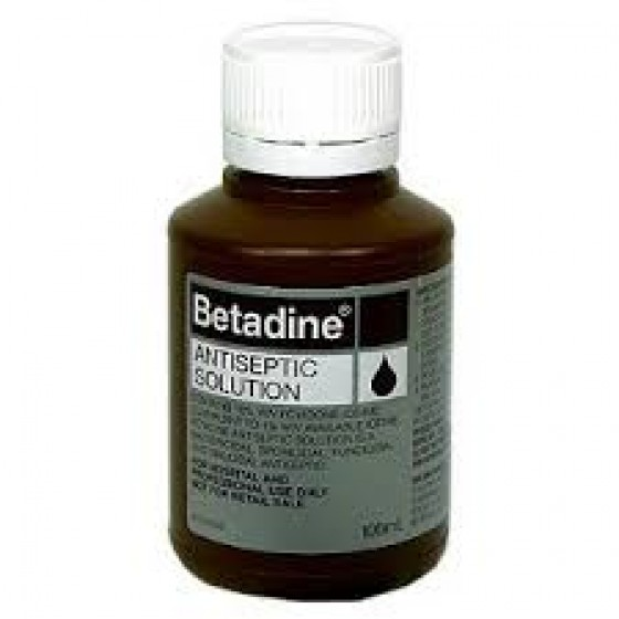 BETADINE LIQUID 100 ML