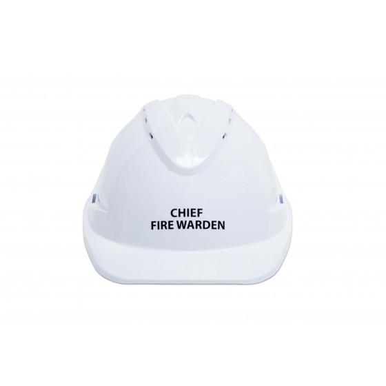 CHIEF FIRE WARDEN HARD HAT