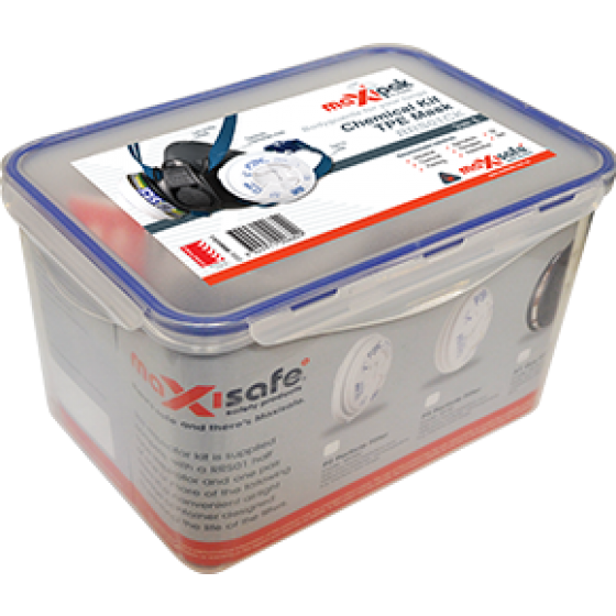 Half Mask 'Chemical' Respiratory Kit - MEDIUM
