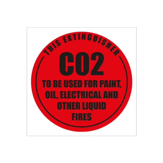 ID SIGN (DISK) CO2 SELF ADHESIVE