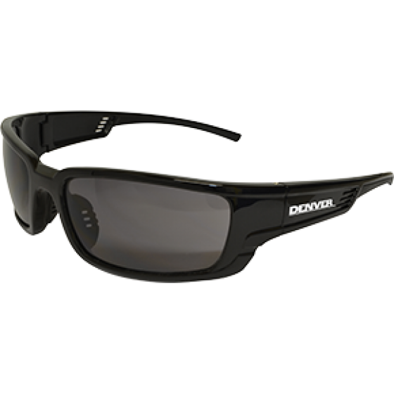 DENVER SMOKE LENS SAFETY GLASSES PKT 12PKT