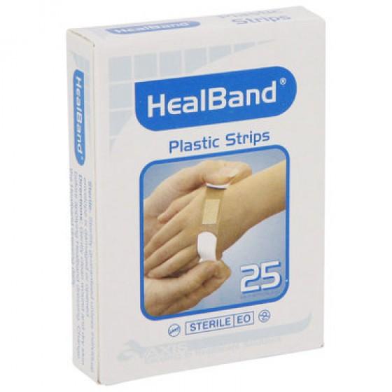 HEALBAND PLASTIC STRIP BOX 25