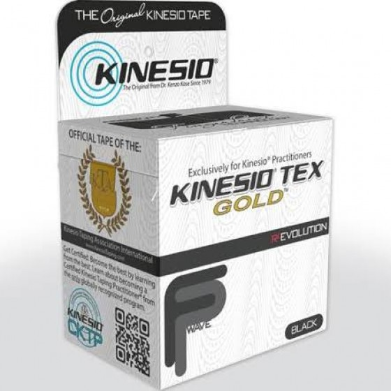 KINESIO TEX TAPE 5CM X 5M BLACK