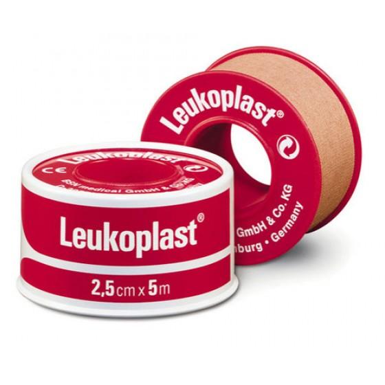 LEUKOPLAST POROUS (RED) 2.5CM X 5M