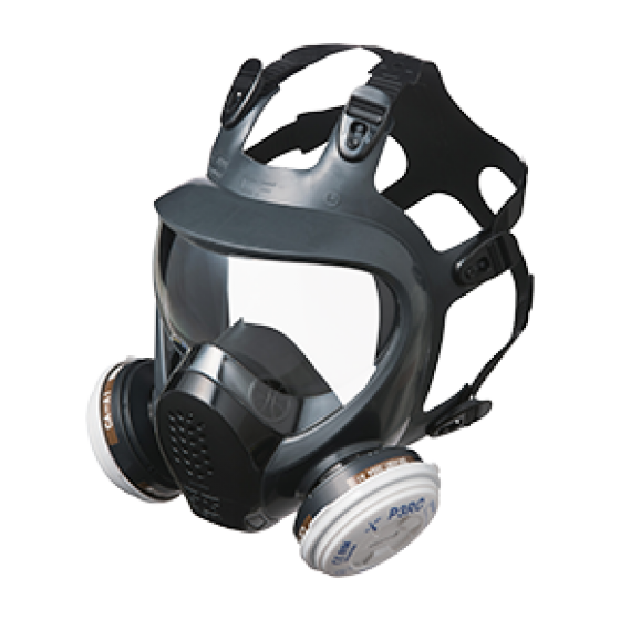 MAXI FULL FACE RESPIRATOR MASK - ULTRA