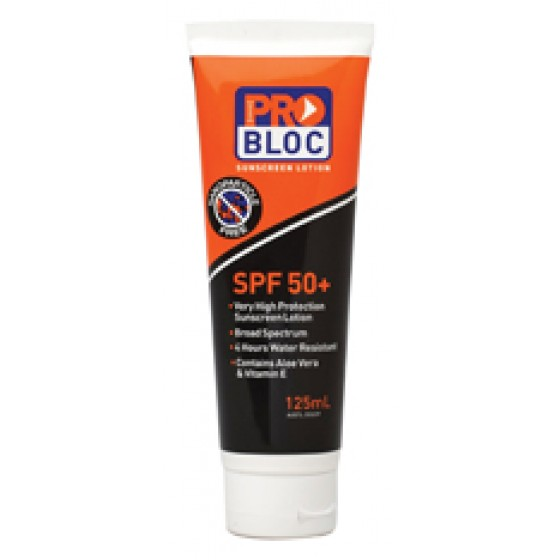 PRO-BLOCK 50+ sunscreen 125ml Tube