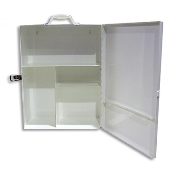 FIRST AID CASING - LARGE METAL BOX (350 X 450 X 170mm)