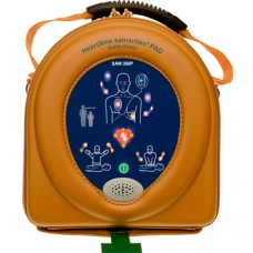 HEARTSINE SAMARITIAN  PAD 350P DEFIBRILLATOR AND CASE