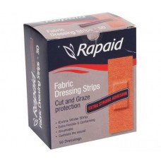 RAPAID FABRIC STRIPS EXTRA WIDE - BOX 50