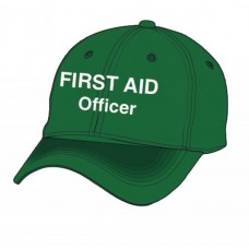 FIRST AID CAP - GREEN