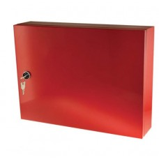STORAGE CABINET - RED -  420MM X 350MM X 100MM (W X H X D)