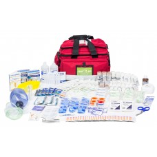 ASSESS 4 - RESPONDER TRAUMA KIT - LRG RED SOFT BAG