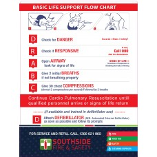 DRABC Resus Sign 400mm x 300mm