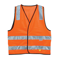 HI-VIS DAY / NIGHT VEST - ORANGE