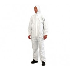 PREMIUM DISPOSABLE COVERALLS WHITE