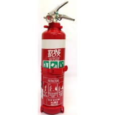 1.0KG DCP FIRE EXTINGUISHER C/W NOZZLE & VEHICLE BRACKET