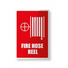 LOCATION SIGN FOR FIRE HOSE REEL  - 150mm X 225mm
