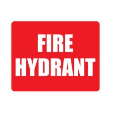 LOCATION SIGN FOR FIRE HYDRANT