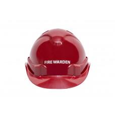 FIRE WARDEN HARD HAT