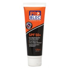 PRO-BLOCK 50+ sunscreen 125ml Tube