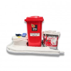 OIL AND PETROLEUM 240L WHEELIE BIN SPILL KIT
