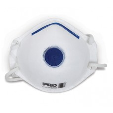 PRO SAFETY P2 MASK WITH VALVE BOX 12