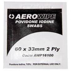 IODINE POVIDINE PACK 5 (60MM X 33MM) SWABS