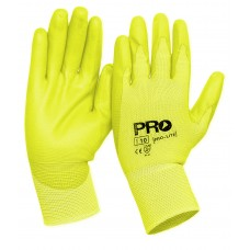 PRO LIGHT HI VIS YELLOW GLOVES