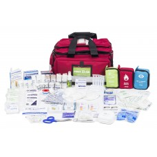 ASSESS 4 - CONSTRUCTION (LRG RED SOFT BAG) FIRST AID KIT