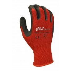 RED KNIGHT Nylon Latex Dip Glove CTN 120