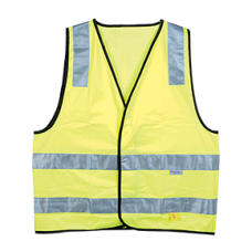HI-VIS DAY / NIGHT VEST YELLOW