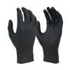 BLACK NITRILE DISPOSABLE GLOVE BOX 100