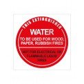 ID SIGN WATER (DISK)- 190mm X 190mm